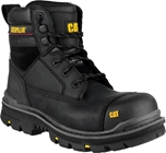 Caterpillar Gravel Black Goodyear Welted Safety Boot