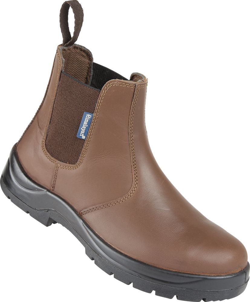 Himalayan Brown S3 Leather Dealer Safety Boot: #161 - UK Suppliers ...