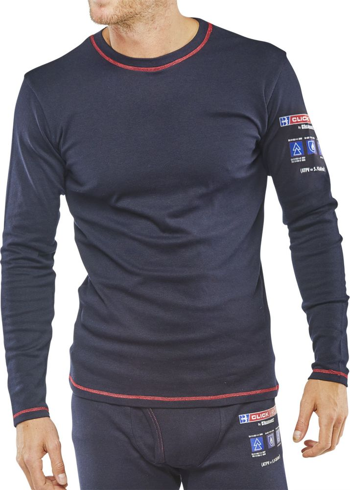 41eb5a591d53 Click Fire Retardant Anti-Static ARC Long Sleeve T-Shirt