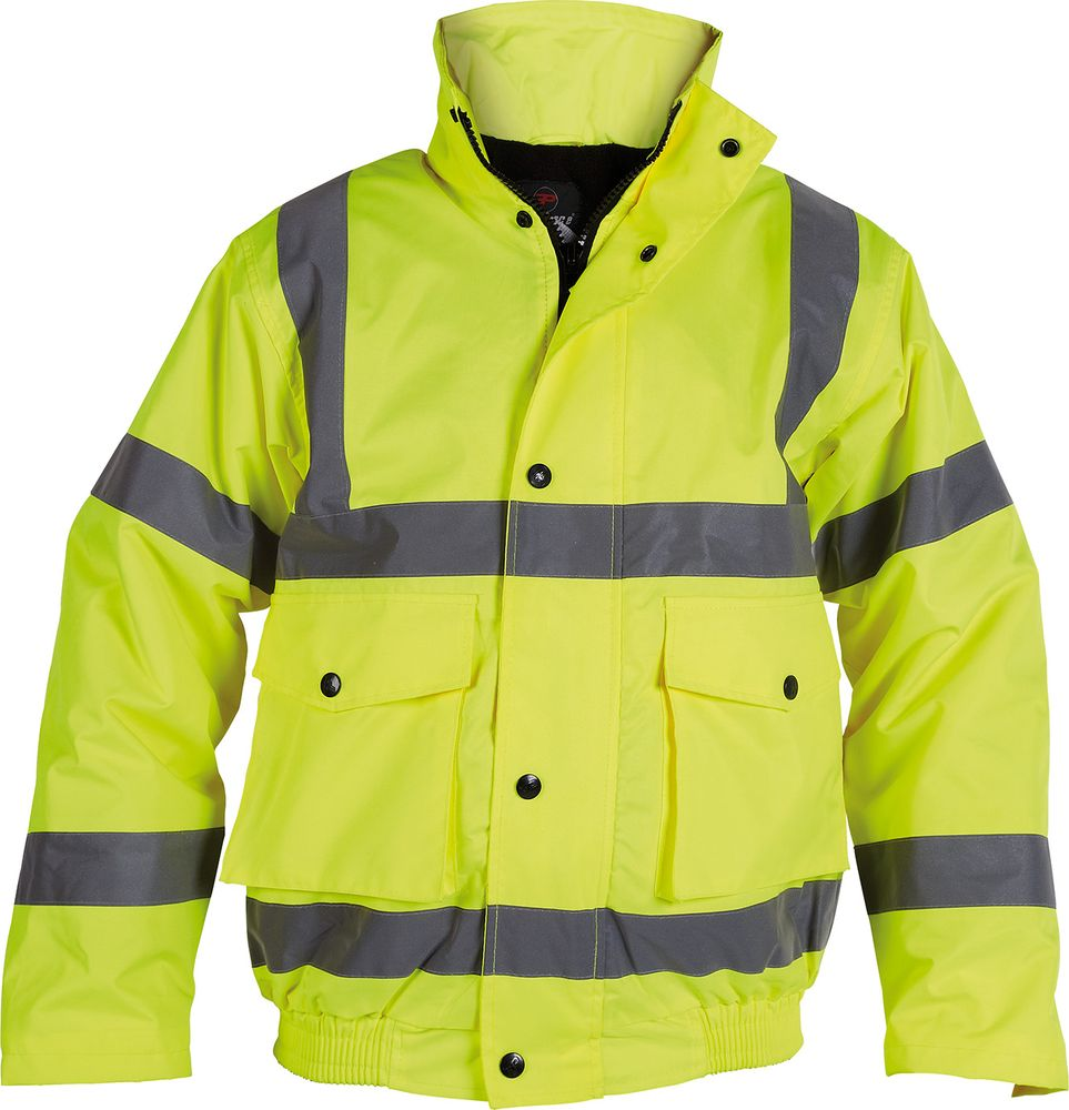 a4e214083 Proforce Class 3 Hi Vis Bomber Jacket | HV11 | EPT Workwear