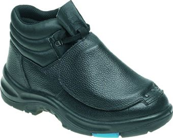 Himalayan S3 Black Leather Metatarsal Safety Boot