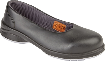 Himalayan Ladies S1P Black Star Court Shoe