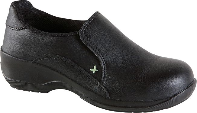 Himalayan Ladies Black Microfibre Casual Safety Shoe