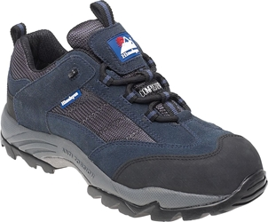 Himalayan Navy Suede/Nylon Metal Free Safety Trainer