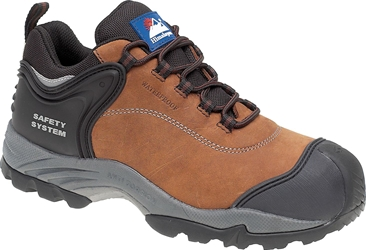 Himalayan Brown Nubuck Fully Waterproof Shoe