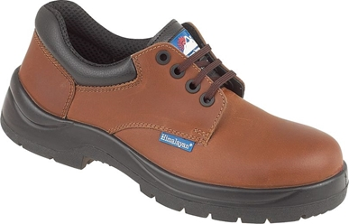 Himalayan Brown Leather HyGrip Safety Shoe