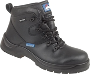 "Himalayan Black Leather HyGrip ""Waterproof"" Safety Boot"