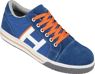 Himalayan Navy Suede/Canvas Safety Skater Shoe