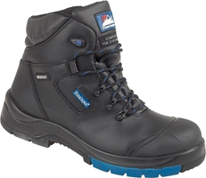 "Himalayan Black HyGrip ""Waterproof"" Safety Boot"