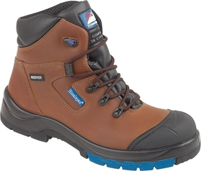 "Himalayan Brown HyGrip ""Waterproof"" Safety Boot"