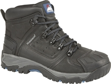 Himalayan Black Waterproof S3 Ankle Safety Boot