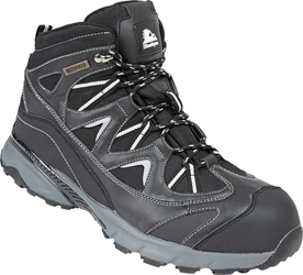 Himalayan Black Waterproof Safety Hiker Boot
