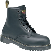 Dr Martens Icon Black SB Smooth Leather 7 Eyelet Lace Safety Boot