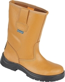 Himalayan Tan HyGrip Unlined Safety Rigger Boot