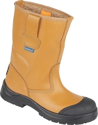 Himalayan Tan HyGrip Safety Warm Lined Rigger Boot