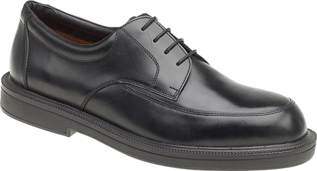 Himalayan Black Executive Leather Lace Shoe