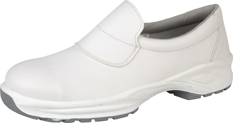 Himalayan White Microfibre Slip On Shoe
