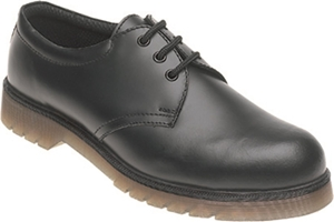 Himalayan Black Leather Safety Shoe