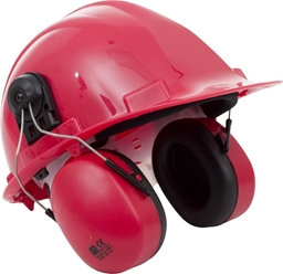 Proforce Helmet Mounted Classicmuff Red