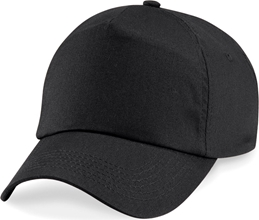 Beechfield 5 Panel Unlined Cot.Caps
