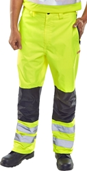 Click Hi-Visibility Two-Tone Trousers
