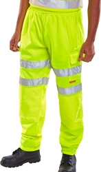 Click Hi Visibility Jogging Bottoms