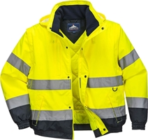 Portwest Hi-Vis 2in1 Bomber Jacket