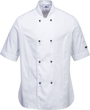 Portwest Rachel Ladies Short Sleeve Chefs Jacket