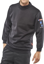 Click Fire Retardant Anti-Static ARC Sweatshirt