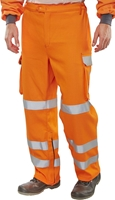 Click Fire Retardant Anti-Static ARC Hi-Visibility GO/RT Trousers
