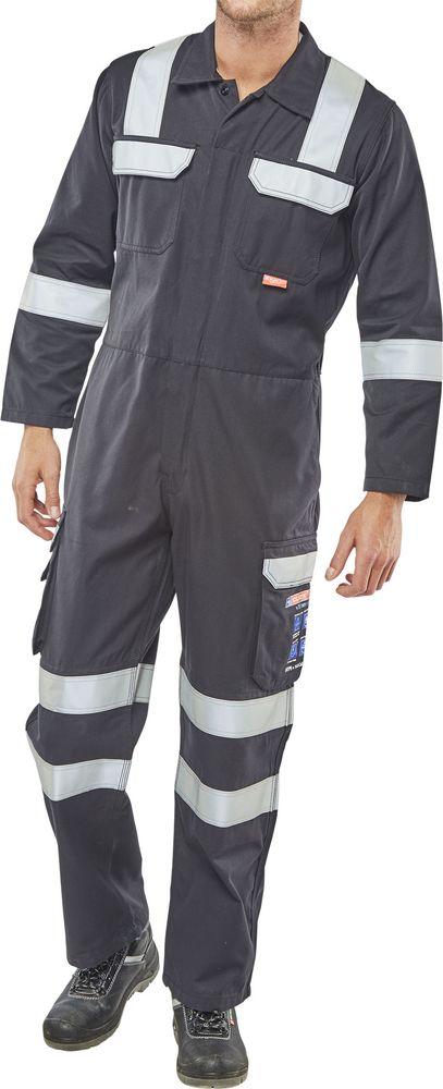 7e871d7bb598 Click Fire Retardant Anti-Static ARC Coverall