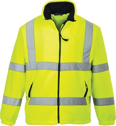 Portwest Hi-Vis Mesh Lined Fleece