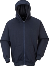 Portwest Flame Retardant Hooded Zip Sweatshirt