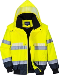 Portwest Glowtex 3in1 Bomber Jacket