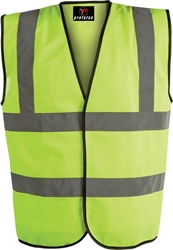 Proforce Class 2 Hi Vis 2 Band Work Vest