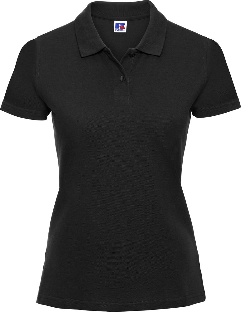 Russell Ladies 100 Cotton Polo Shirt J569f Ept Workwear