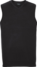 Russell V-Neck Sleeveless Pullover
