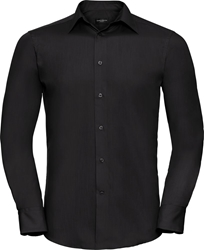 Russell Long Sleeve Tailored Poplin Shirt