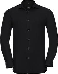 Russell Mens Long Sleeve Ultimate Stretch Shirt