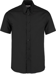 Kustom Kit Tailored Premium Short Sleeve Oxf Shirt