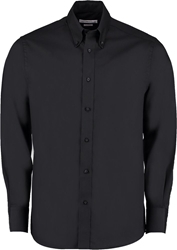 Kustom Kit Tailored Premium Long Sleeve Oxf Shirt