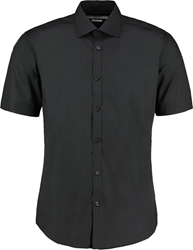 Kustom Kit Slim Fit Bus. Short Sleeve Shirt