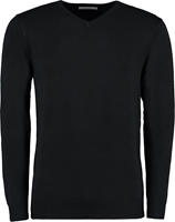 Kustom Kit Mens Arundel V Neck Long Sleeve Sweat