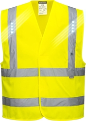 Portwest Vega Hi-Vis LED Vest