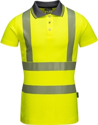 Portwest Hi-Vis Ladies Pro Polo Shirt