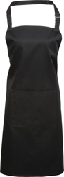 Premier Workwear Colours Bib Apron with Pocket