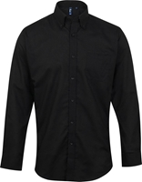 Premier Workwear Signature Mens Oxf Long Sleeve Shirt