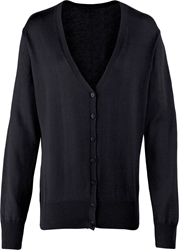 Premier Workwear Ladies Button Knitted Cardigan
