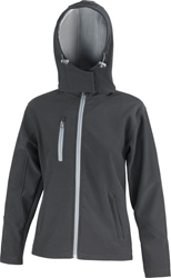 Result Ladies Core Lite Hooded Softshell