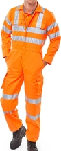 Click Railspec GO/RT Coverall Orange